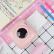 PAPERANDGニャースのBluetooth携帯電話の写真ポケットのミニステッカー、ポケットの熱いプリンターのピンク