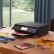 キヤノンTS 8380-黒いインテリジェントタッチパネルの高品質写真印刷機